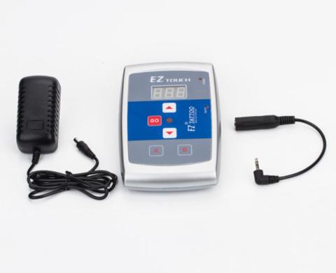 Тату-набор Роторная машинка для тату и перманента EZ P4 Mini + Провод Master Cord RCA + Блок EZ Touch
