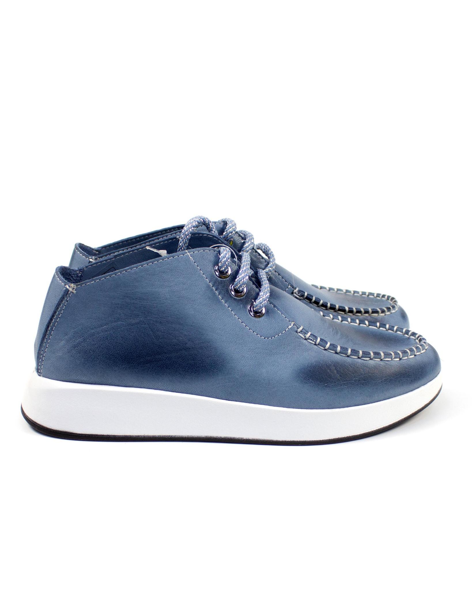 голубые туфли SM