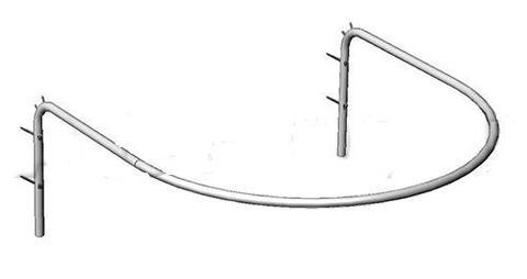 5М-Р Кабина примерочная полукруглая, 1000х1000х325 Н мм