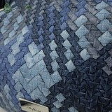 Сумка Саломея 278 плетенка синий джинс