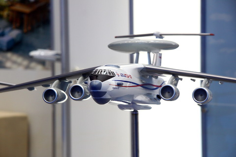 Модель самолета А-50  (Авиастар СП, Масштаб 1:20)