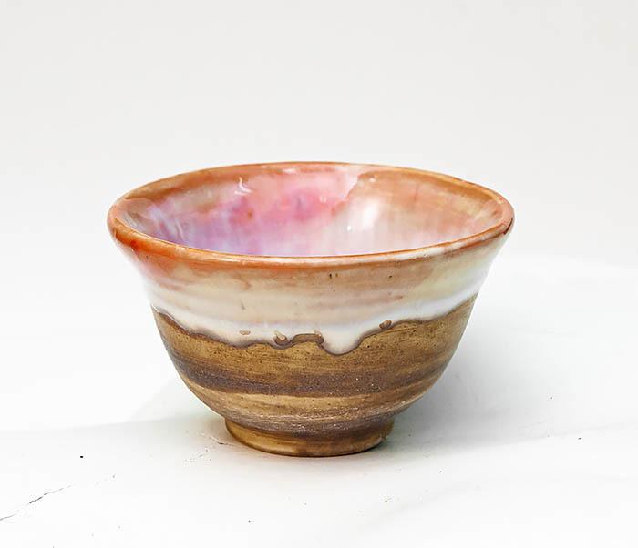 CUP110 Пиала для чая ручной работы «Перламутр»