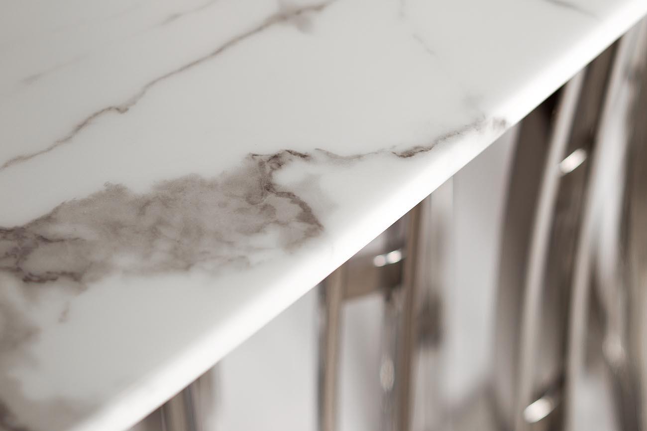 Консоль светло-серая (натуральный камень) (45EX-CN122) Garda Decor