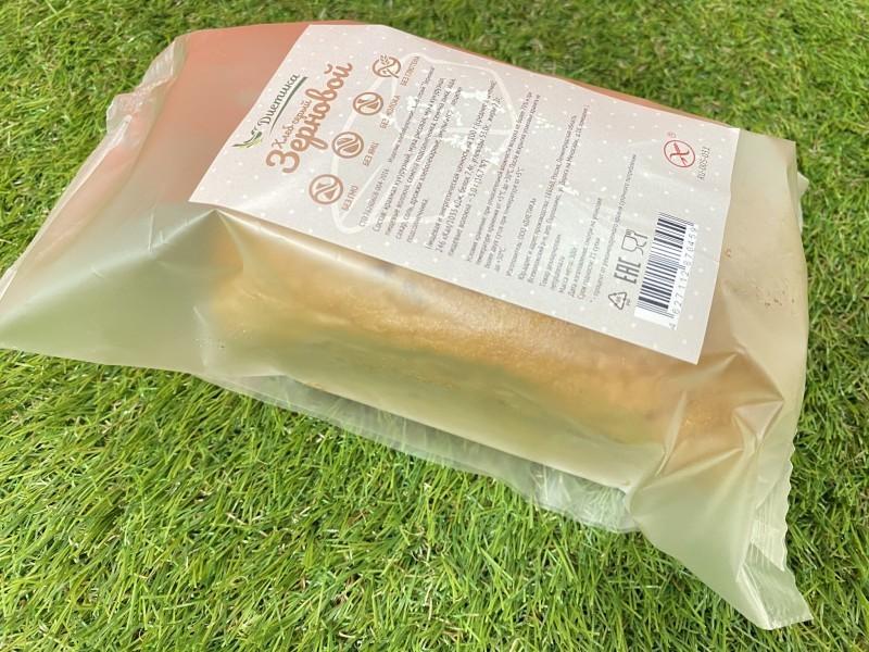 Хлеб серый зерновой Диетика б/глютена 300г
