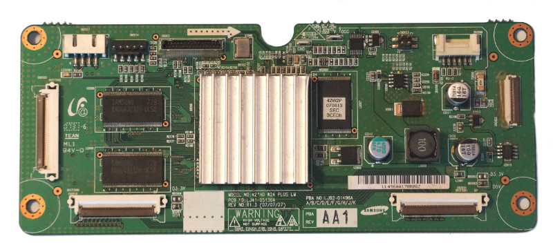 42HD Main Logic CTRL Board LJ41-05136A LJ92-01496A телевизора Samsung