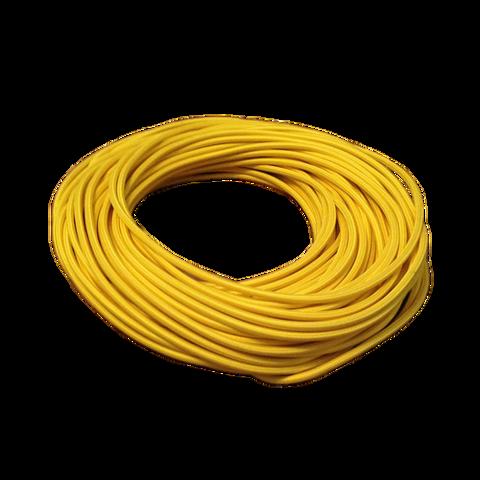 Круглый ретро провод (Желтый)