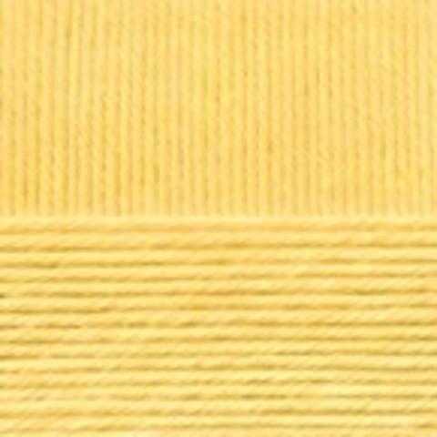 Купить Пряжа Пехорка Детский каприз Код цвета 053-Св.желтый | Интернет-магазин пряжи «Пряха»
