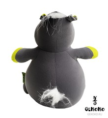 Подушка-игрушка антистресс Gekoko «Бегемот Няша», желтый 5