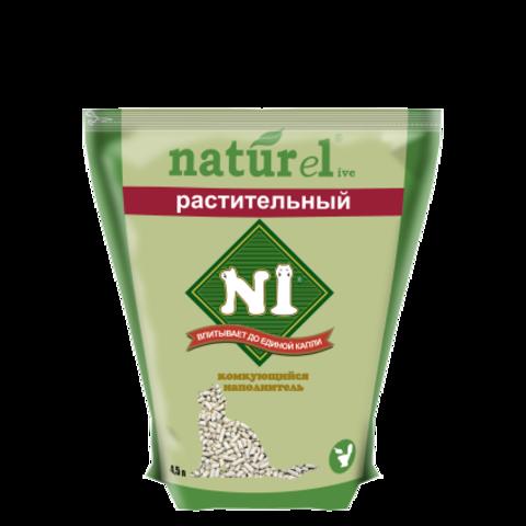Барсик наполнитель 4,5 л №1 Naturel Растительный