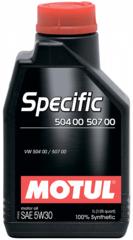 Motul Specific 504 00 507 00 5W30 1 л
