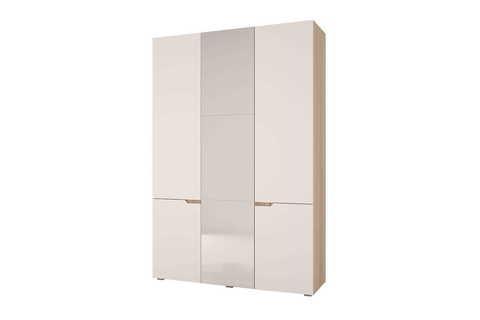 Шкаф трехстворчатый Анталия Горизонт дуб сонома, белый софт
