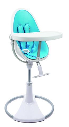 Стульчик Bloom Fresco Chrome White Bermuda Blue