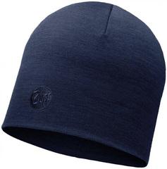 Теплая шерстяная шапка Buff Solid Denim