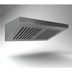 Зонт вентиляционный пристенный ВЗП-12-12  1200х1200х450h