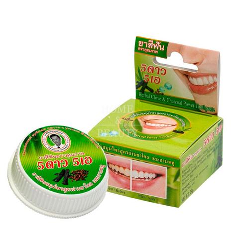 Зубная паста 5 Star Cosmetic отбеливающая c бамбуковым углем 25 гр