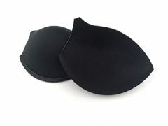 Чашки, с уступом под бретель, пуш-ап, черные, (Арт: АС55-170.85), 80С, 85В, 90А