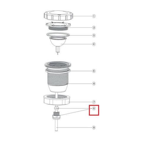 Зажимная муфта кабеля Aquaviva для прожектора UL/LED- P50 / 11884