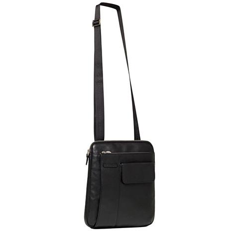 Сумка Piquadro Modus, черная, 25,5x30,5x6 см