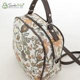 Сумка Саломея 146 цветы бронза (рюкзак)