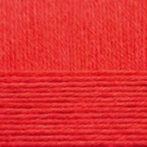 Купить Пряжа Пехорка Детский каприз Код цвета 088-Красный мак | Интернет-магазин пряжи «Пряха»