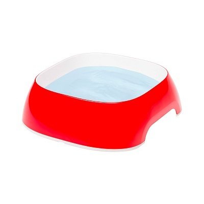 Миски, диспенсеры Пластиковая миска, Ferplast GLAM SMALL, красная 0,4 л GLAM_SMALL_красная.jpg