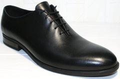 Класические туфли мужские Ikos 006-1 Black