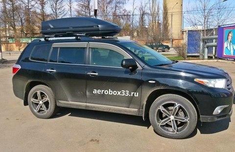 Автобокс Way-box 520 литров на Toyota Highlander