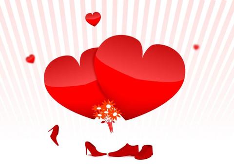 Печать на сахарной бумаге, День Влюбленных 17