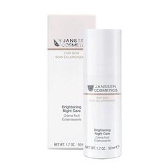 Осветляющий ночной крем для всех типов кожи Brightening Night Care, Fair skin, Janssen Cosmetics, 50 мл