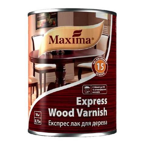 Экспресс лак для  дерева Maxima 15 мин