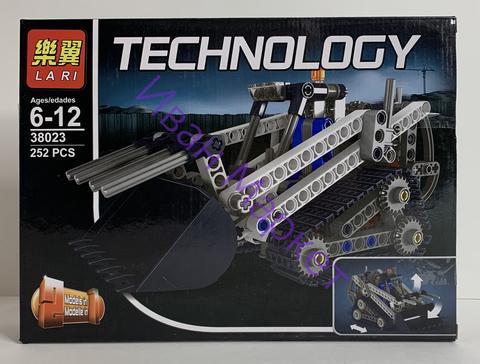 Техник 38023 Гусеничный погрузчик 252 дет Конструктор