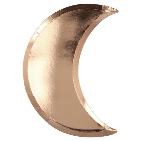 Тарелки в форме луны