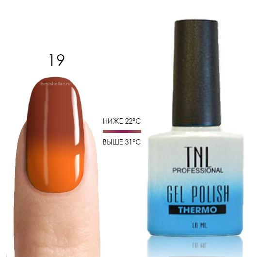 Термо TNL, Термо гель-лак № 19 - корица/оранжевый, 10 мл 19.jpg