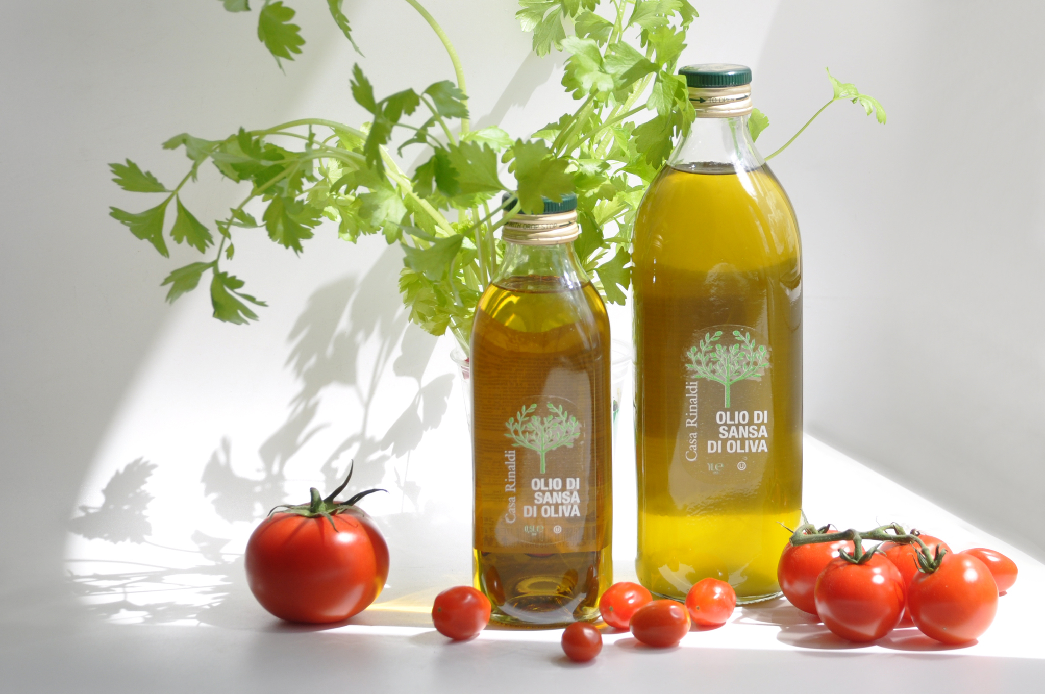 Масло оливковое рафинированное (OLIO DI SANSA E OLIVA)