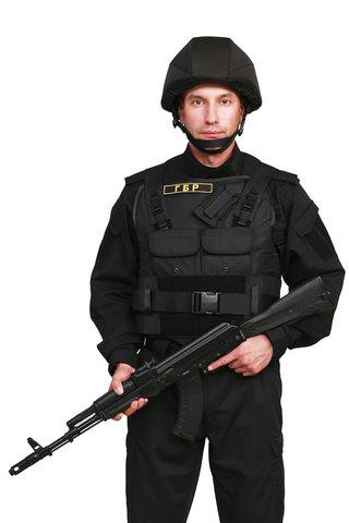 Бронежилет Комфорт 4-4 УНИ в чехле «Охранник» с боковой защитой по Бр4 классу (Ст)