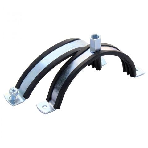 Хомут с резиновым профилем для воздуховода D 250 мм