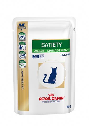Влажный корм Royal Canin Satiety диета для кошек 0,085 кг