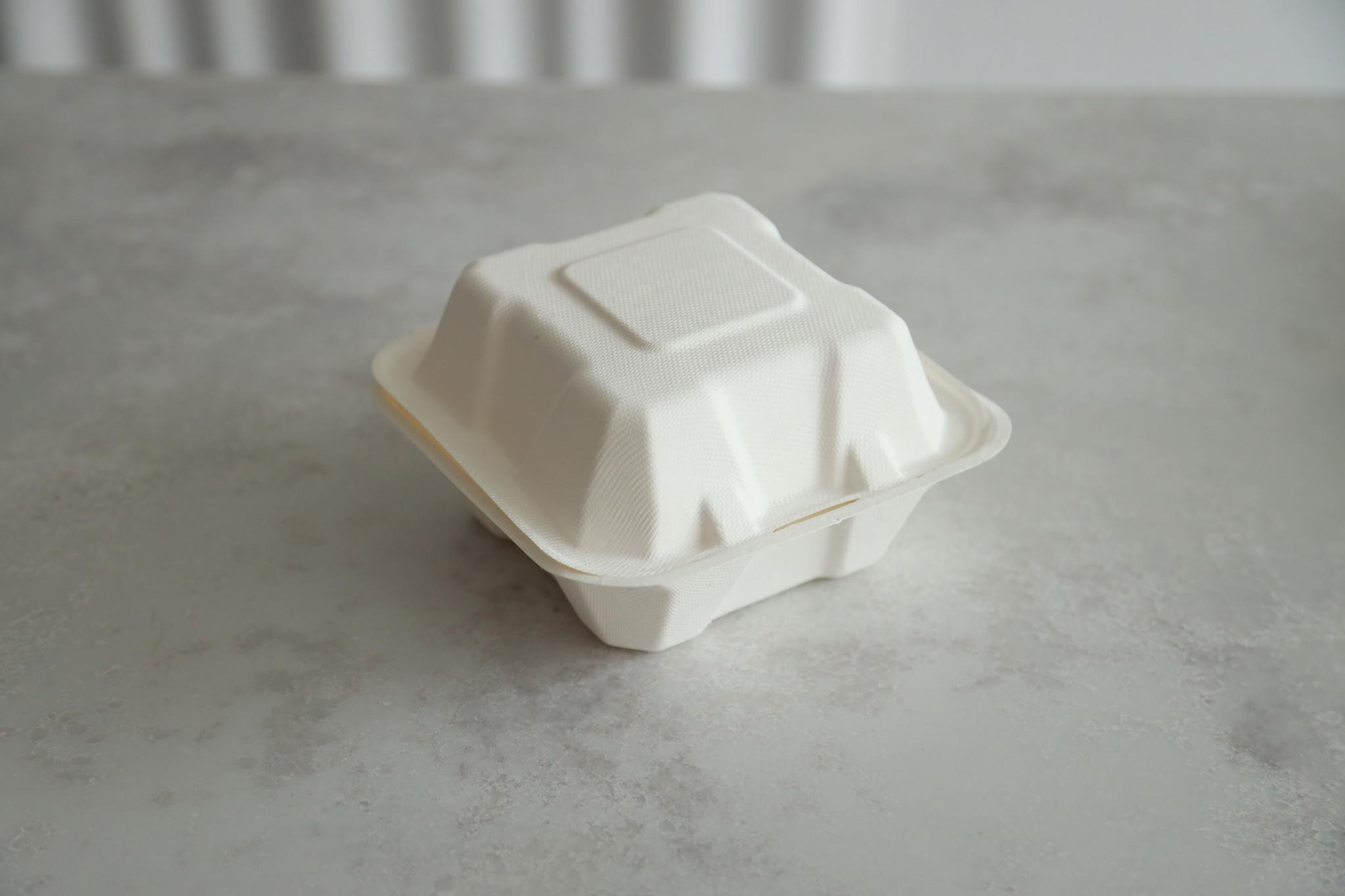 ЭКО-коробка под бенто-торт, 450 мл, 154х152х88 мм