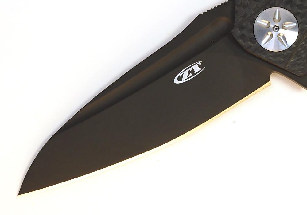 Нож Zero Tolerance ZT 0777 Black M390 Limited - фотография