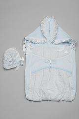 Конверт для новорожденного, Осень-Весна, Голубой