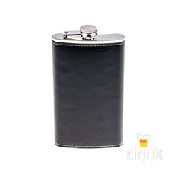 Фляга черная, 350 мл, фото 4