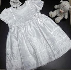 Крестильное платье для девочки  Облачко