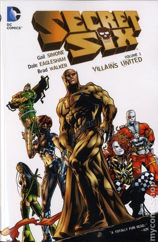 Secret Six: Villains United Vol 1 TPB