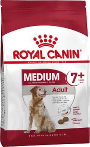 Royal Canin Medium Adult 7+ сухой корм для собак средних пород от 7 до 10 лет