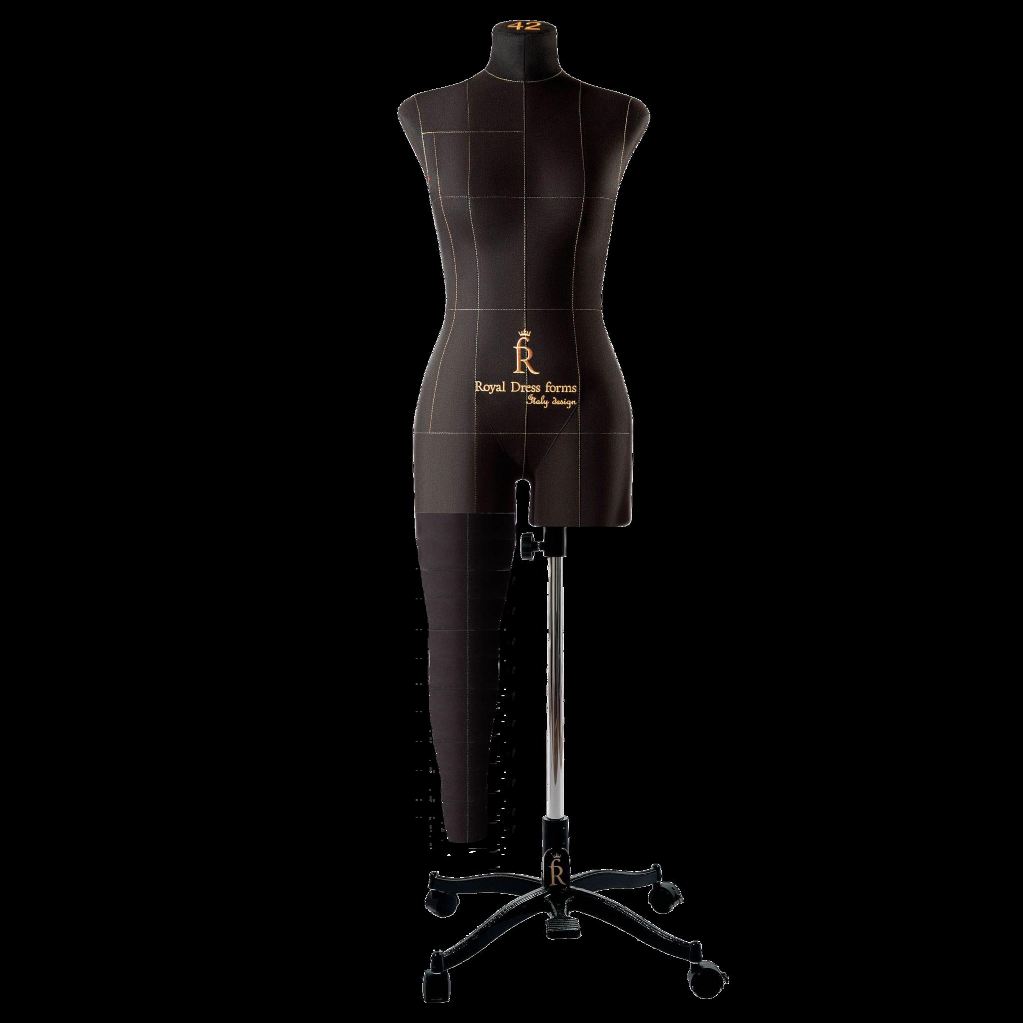 Нога черная для манекена Моника, размер 42Фото 0