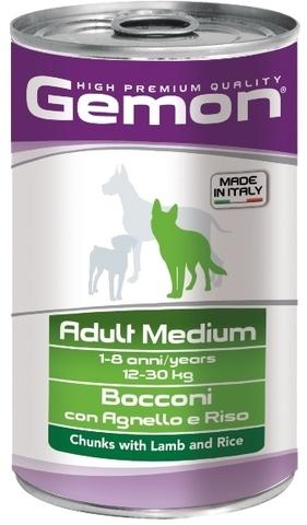 Gemon Dog Medium Adult Chunkies with Lamb & Rice