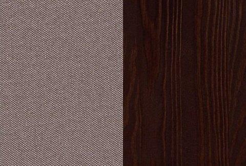 Ткань/Массив: Тетра Мраморный/Венге матовый
