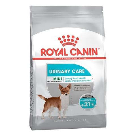 Canin Mini Urinary Care для собак мелких пород с чувствительной мочевыделительной системой 3 кг
