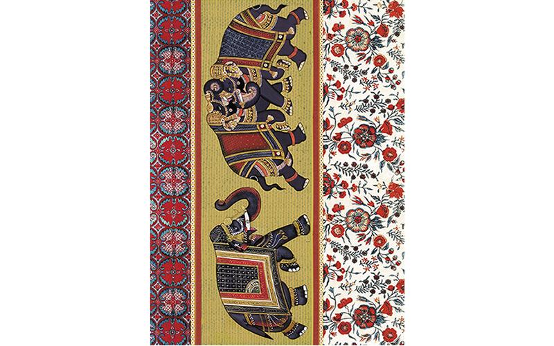 Рисовая бумага для декупажа Индийские слоны, А3