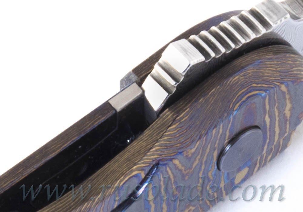 Cheburkov Full Custom Colibri Damascus Timascus One-Off - фотография